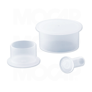 Flanged Plastic Caps for BSP and NPT Threads
