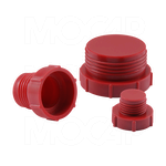 MOCAP - Threaded Plastic Plugs for Inverted Flared Fittings