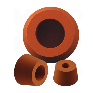 Silicone Rubber Hollow Tapered Plugs