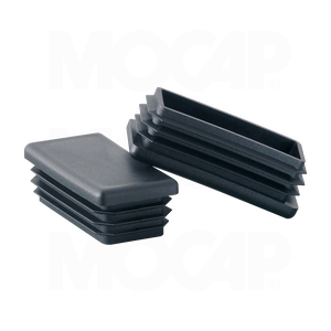 Mocap Rectangular Tube Plugs For Metric Tubing Applications